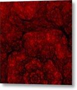 Red Fractal 051910 Metal Print