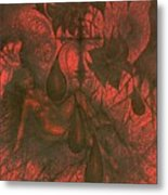 Red Hell  Metal Print