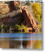 Red Rock Canyon And Garden Of The Gods Metal Print