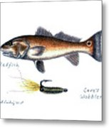 Redfish And Cave's Wobbler Metal Print