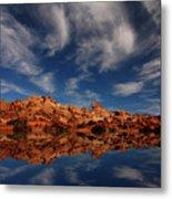 Redrock Reflections Metal Print