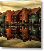 Reflections Of Groningen Metal Print