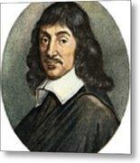 Rene Descartes, 1596-1650 Metal Print