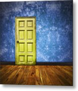 Retro Room Metal Print