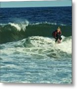 Riding Easy - Jersey Shore Metal Print by Angie Tirado