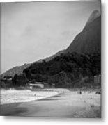 Rio De Janeiro Beach Metal Print