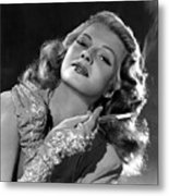 Rita Hayworth, Columbia Pictures, 1940s Metal Print by Everett