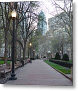 Rittenhouse Square In The Morning Metal Print