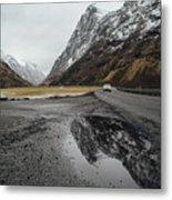 Road Of Norway Metal Print