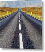 Road To Nowhere. Metal Print