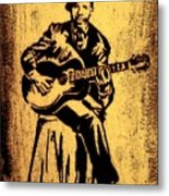 Robert Johnson Metal Print by Jeff DOttavio