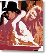 Robert Mitchum Hauls Angie Dickinson Collage Young Billy Young Old Tucson Arizona 1968-2013 Metal Print