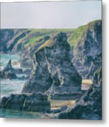 Rock Face Metal Print
