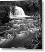 Rock River Falls Metal Print