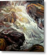 Rock Tumble Metal Print