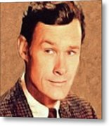 Ron Hayes, Vintage Actor Metal Print
