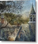 Rooftops Of Old Edwards Metal Print