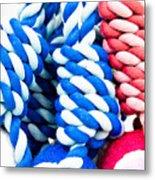 Rope Toys Metal Print