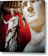 Rotunda Colossals 3 Of 3 Metal Print by Andy Smy