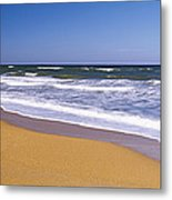 Route A1a, Atlantic Ocean, Flagler Metal Print