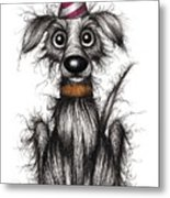 Rupert The Dog Metal Print