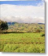 Rural Landscape Tanzania Metal Print