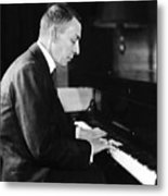 Russian Composer And Pianist Sergei Metal Print by Everett