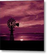 Rustic Sunset - Colorado Metal Print