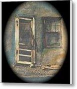 Sagging Door Lordsburg New Mexico 1968-2012 Metal Print