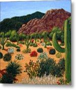 Saguaro Desert Metal Print