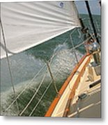 Sailboat Metal Print