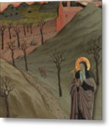 Saint Anthony The Abbot In The Wilderness Metal Print