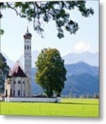 Saint Coloman Church 2 Metal Print