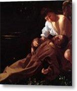Saint Francis Of Assisi In Ecstasy Metal Print