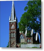 Saint Peter's Roman Catholic Church In Harpers Ferry Metal Print