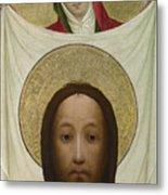 Saint Veronica With The Sudarium Metal Print