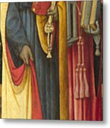 Saints Peter And Jerome Metal Print