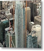 Salesforce Tower In San Francisco Metal Print