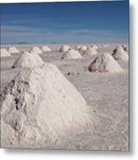 Salt Production Metal Print