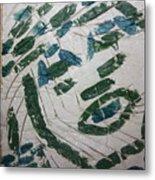 Samson - Tile Metal Print