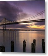San Francisco Bay Bridge Metal Print