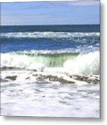 Sand And Sea 1 Metal Print