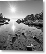 Sand Harbor Star Metal Print