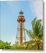 Sanibel Lighthouse Metal Print
