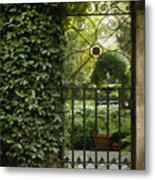 Savannah Gate Metal Print