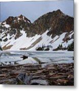Sawtooth Lake Metal Print