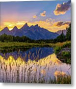 Schwabacher's Reflection Metal Print