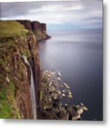 Scotland Kilt Rock Metal Print by Nina Papiorek