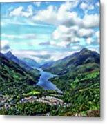 Scottish Landscape Metal Print
