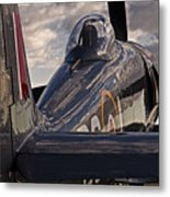 Sea Fury Reflections Metal Print